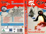 Pingu the Snowboarder (UK DVD)