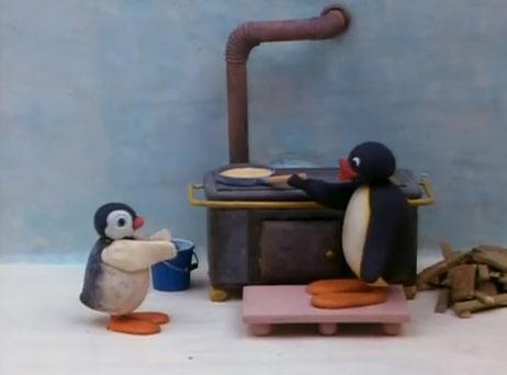 Pingu and Pinga at Home