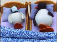 Pingu Pinga Sleeping Bloated and big tummied