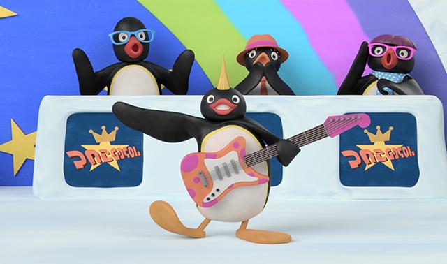 Pingu is a Rock Star!
