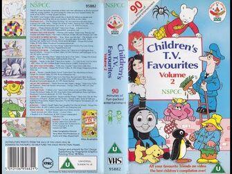 NSPCC_Children's_TV_Favourites_Volume_2_(1992_UK_VHS)