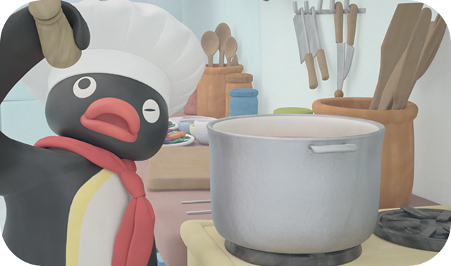 Pingu Cooks Up A Treat!