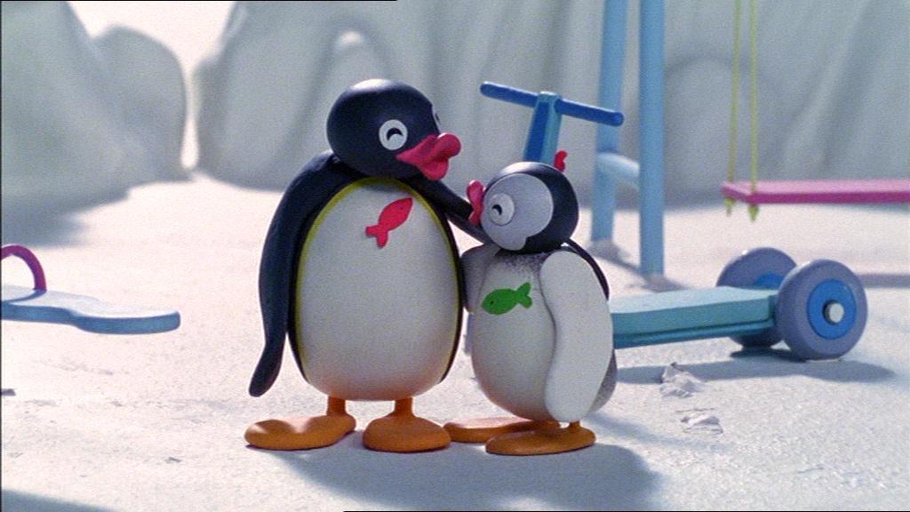 Pingu Sticks Up