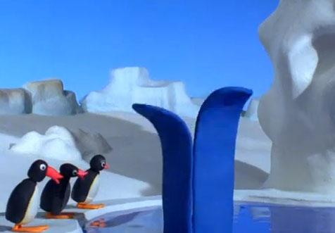Pingu Makes a Big Splash