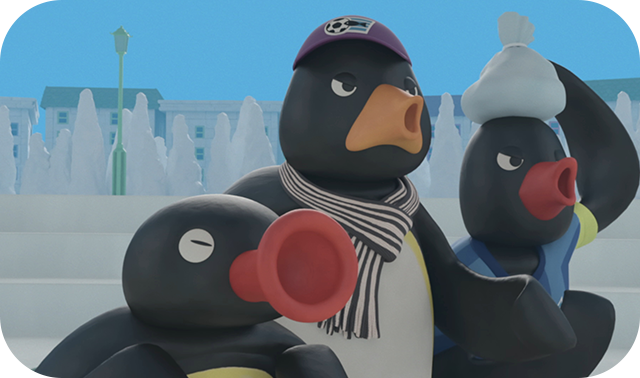 Pingu the Hero!