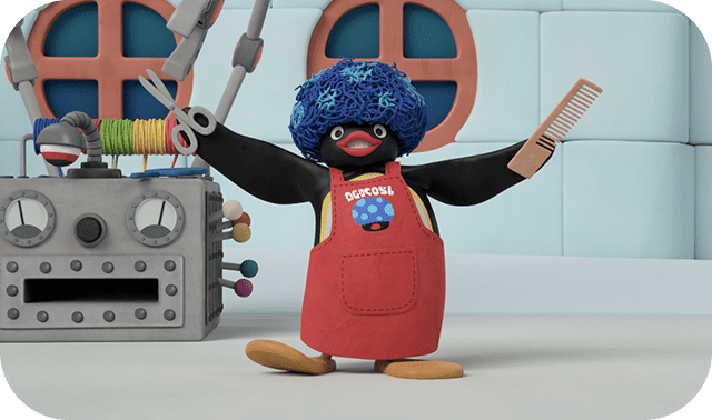 Pingu the Wigmaker!