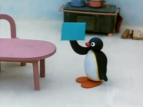 Pingu and the Letter