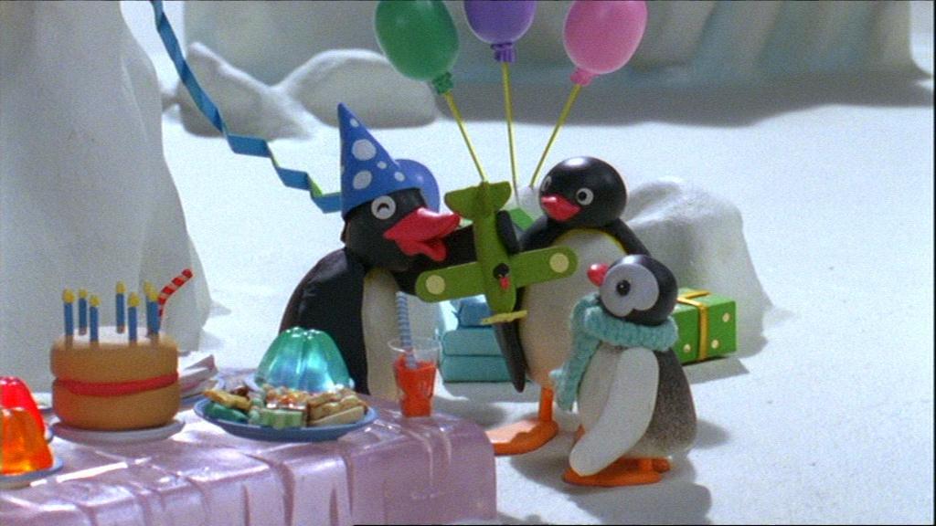 Pingu and the Present