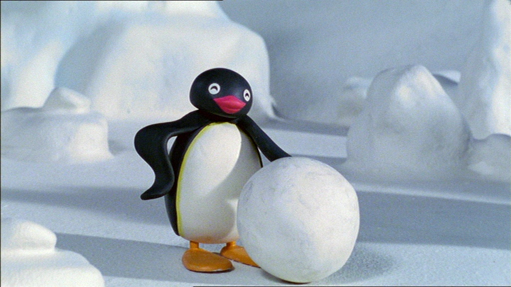Pingu and the Snowball