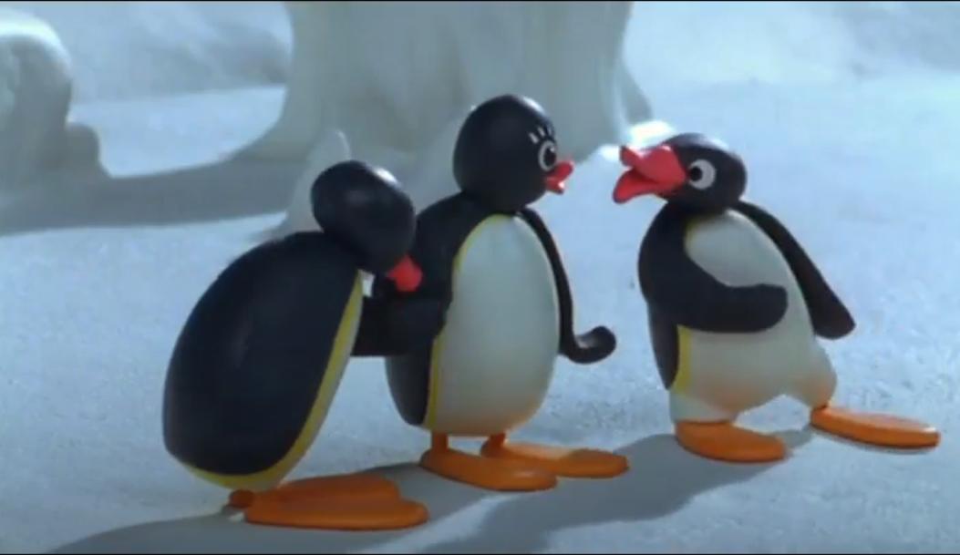 Green-Eyed Pingu