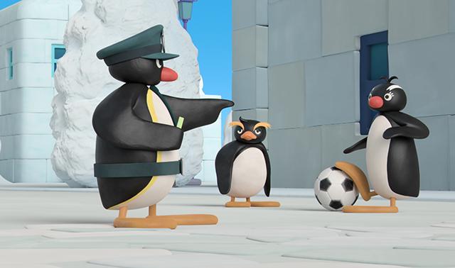 Pingu on Patrol!