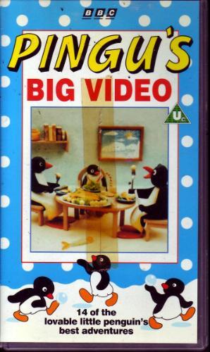 Pingu's Big Video (1994 VHS)