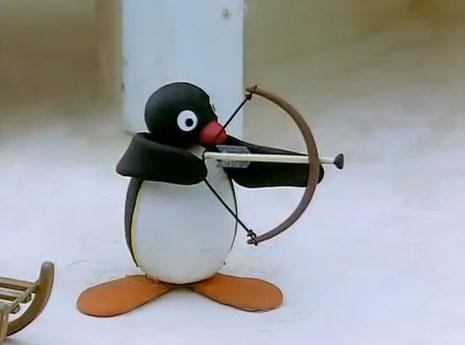 Pingu the Archer