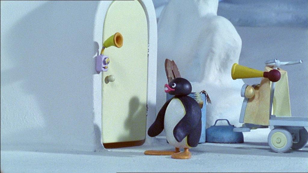 Pingu and the Doorbell