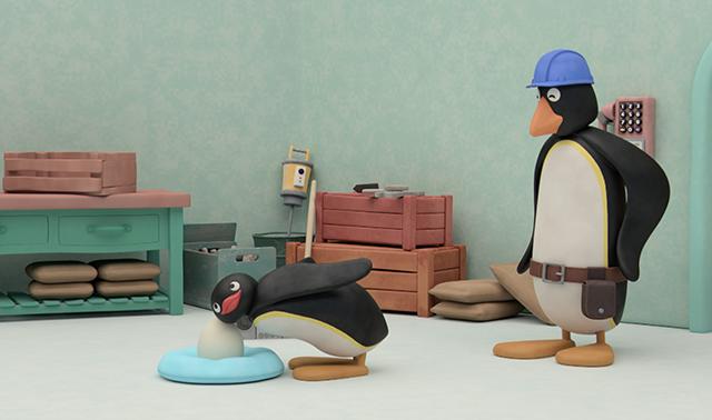 Pingu and the Egg