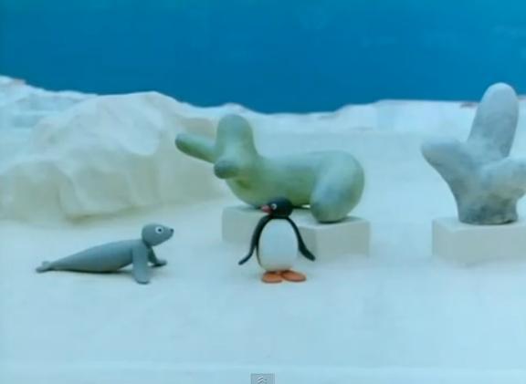 Pingu's Museum Visit
