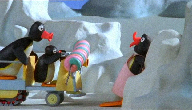 Pingu Gets Carried Away