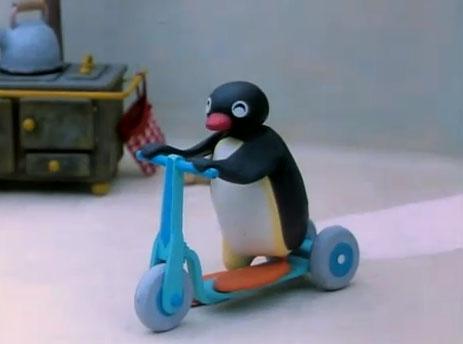 Pingu Gets a Bicycle