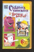 Children's Favorites Spring Into Fun