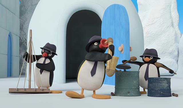 Pingu's Jam Session