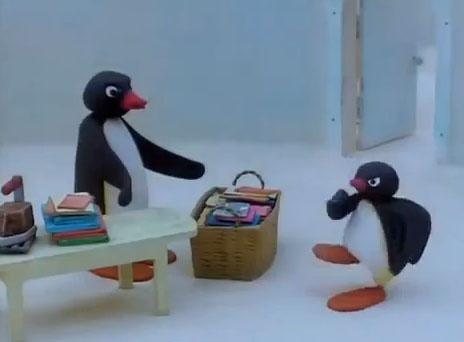 Pingu Quarrels With His Mother