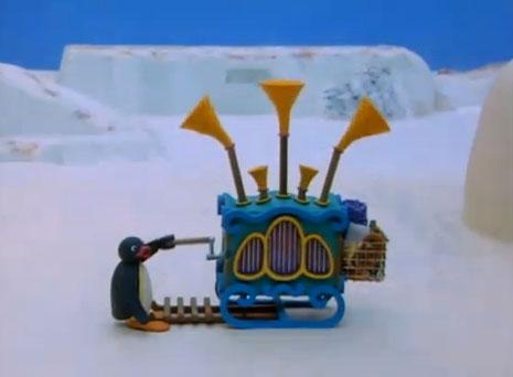Pingu and the Barrel Organ