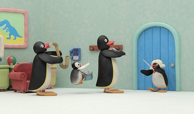 Pingu the Conductor