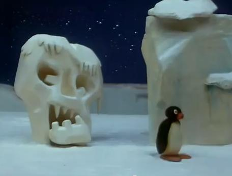 Pingu Runs Away