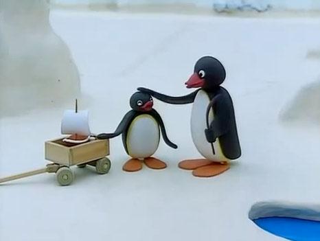 Pingu Gets Help