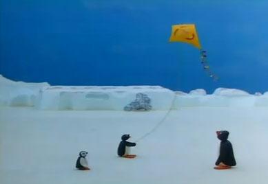 Pingu's New Kite