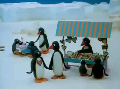 Pingu at the Funfair