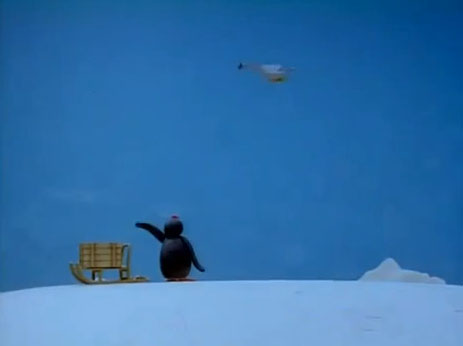 Pingu and the Mother Bird