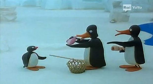 Pingu and the Strangers