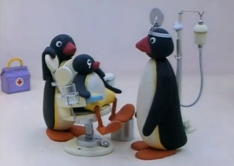 Pingu at the Doctor's