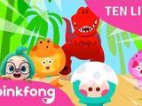 Ten Little Dino Kids