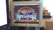 Prince of Persia lancé depuis une disquette sur la Pippin