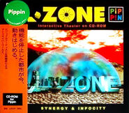 PA L-Zone jewelcase+sticker