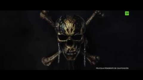 Piratas del Caribe La Venganza de Salazar Teaser Trailer oficial en español HD