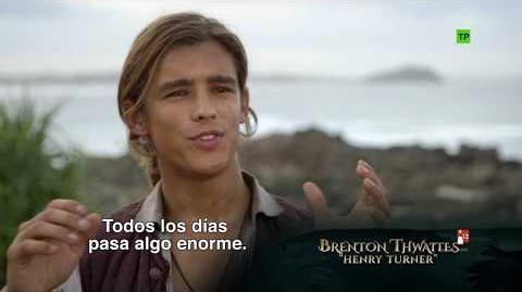 """Piratas del Caribe La Venganza de Salazar Making of """"Nuevos Personajes"""" HD"""