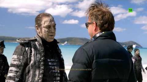 Piratas del Caribe La Venganza de Salazar Making of 'Creando a Salazar' HD