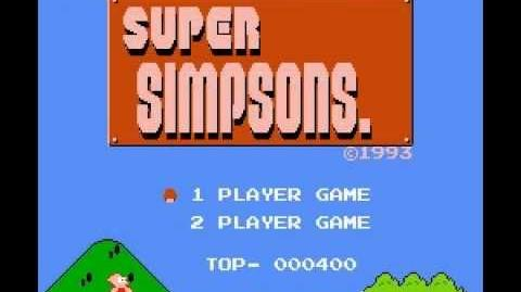 Pirated Games World Episode 18 - Super Simpsons (NES)