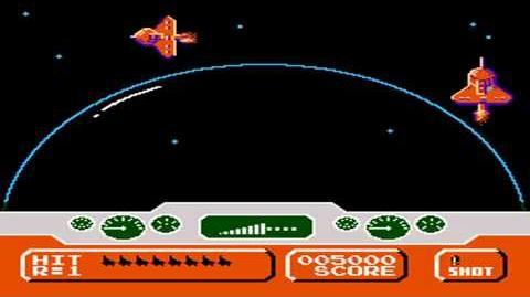 Invader (Duck Hunt Hack) (NES) Gameplay