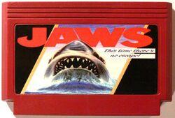Jaws Famicom Pirate Cart.JPG