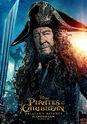 Pirates of the Caribbean Salazar's Revenge (UK) Character Poster 3 - 3 - Geoffrey Rush