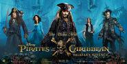 Pirates of the Caribbean Salazar's Revenge (UK) Banner Poster