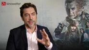Interview Javier Bardem PIRATES OF THE CARIBBEAN SALAZAR'S REVENGE