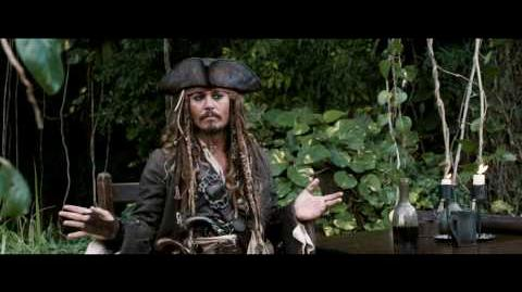 OFFICIAL On Stranger Tides Jack Sparrow Comic-Con 2010 Greeting