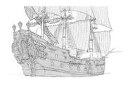 Concept art - Pirate Teague's ship