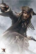 Représentation Jack Sparrow 3