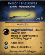 Demon Fang Knives